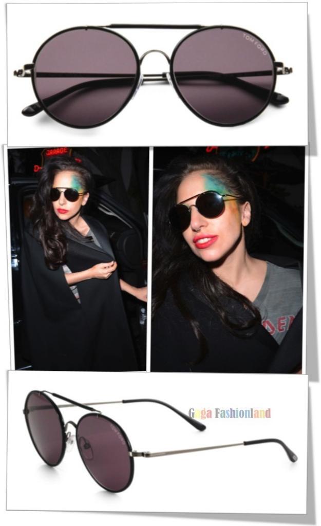 4445368c2d5e9 Lady Gaga porte les Tom Ford Samuele TF 246 – 09A